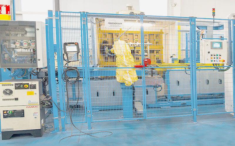 servicio lineas robotizadas pintura automatización procesos industriales