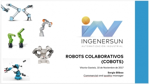 Jornadas industria 4.0 robots colaborativos