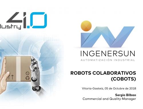 Ponencia Robots Colaborativos – Jornadas Ingeniería en la Industria 4.0